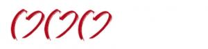 3 Herzen zur Kennzeichnung der 3-Sterne Hotels für Hochzeiten im Ausland