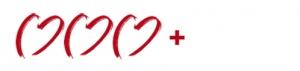 3 Herzen mit Pluszeichen zur Kennzeichnung der 3+Sterne Hotels für Hochzeiten im Ausland