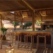 Beach Restaurant im 4-Sterne Preskil Island Resort auf Mauritius.