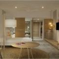 Blick in ein Prestige Zimmer im 4-Sterne Preskil Island Resort auf Mauritius.
