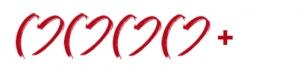 4 Herzen mit Pluszeichen zur Kennzeichnung der 4+Sterne Hotels für Hochzeiten im Ausland.