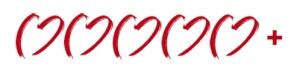 5 Herzen mit Pluszeichen zur Kennzeichnung der 5+Sterne Hotels für Hochzeiten im Ausland.
