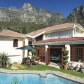 Ansicht des Ambiente Guesthouse in Camps Bay in Südafrika.