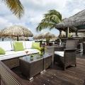 Lounge Area im 4-Sterne Hotel Amsterdam Manor Beach Resort auf Aruba.
