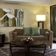 Honeymoonsuite im 4-Sterne Hotel Amsterdam Manor Beach Resort in Aruba.