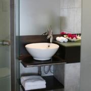 Waschbecken im 4-Sterne Avila Beach Hotel auf Curacao.