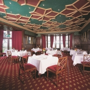 Speisesaal im 4-Sterne Bunchrew House Hotel in Inverness in Schottland.