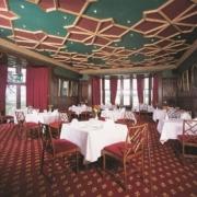Speisesaal im 4-Sterne Bunchrew House Hotel in Inverness in Schottland.