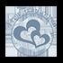 Das Symbol von Honeymoon Highlights fuer freie Trauungen. Transparent.