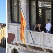 Balkon im 4-Sterne Hotel Ca´ Nigra Lagoon Resort in Venedig.