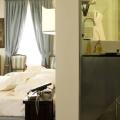 Innenansicht eines Zimmers im 4-Sterne Hotel Ca´ Nigra Lagoon Resort in Venedig.