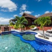 Calibali Pool im 4-Sterne The Calabash Hotel auf Grenada.