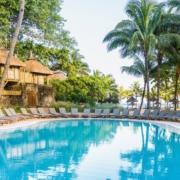 Poolanlage im 4-Sterne Canonnier Beachcomber Golf Resort & Spa auf Mauritius.