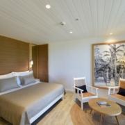 Standard GartenZimmer Innenansicht im 4-Sterne Canonnier Beachcomber Golf Resort & Spa auf Mauritius.