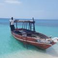 Fischerboot in Zanzibar.