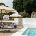 Pool im 4-Sterne Hotel Chuini Zanzibar Beach Lodge.