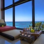 Spa im 5-Sterne Hotel Coco de Mer & Black Parrot Suites auf der Insel Praslin, Seychellen.