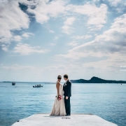 Brautpaar am Gardasee - Copyright Cesare Grandi
