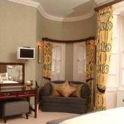 Innenansicht im 4-Sterne Cringletie House Hotel in Peebles Schottland.