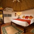 Innenansicht des Gauguin Cottages im 4-Sterne Galley Bay Resort und Spa auf Antigua.
