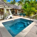 Privater Pool im Gauguin Cottage im 4-Sterne Galley Bay Resort und Spa auf Antigua.