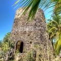 Alter Zuckerrohrturm auf Antigua.