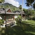 Garden Villa im 5-Sterne Hilton Seychelles Labriz Resort & Spa auf der Privatinsel Silhouette Island.