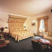 Doppelzimmer im 4-Sterne Bunchrew House Hotel in Inverness in Schottland.