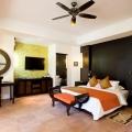 Honeymoon Suite im 4-Sterne Hotel Le Duc de Praslin, auf den Seychellen.