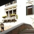 Aussenansicht des 3-Sterne Plus Hotels Locanda del Corte in Venedig.