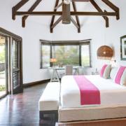 Innenansicht Beachfront Villa im 5-Sterne Hotel Lux*-Belle Mare auf Mauritius.