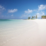 Strand am 5-Sterne Hotel Lux*-Belle Mare auf Mauritius.