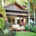 Bungalow im Badezimmer der Honeymoon Suite im 5-Sterne Hotel Lux*-Le Morne auf Mauritius.