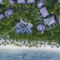 Luftaufnahme auf das 5-Sterne Hotel Lux*-Le Morne auf Mauritius.