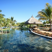 Poolanlage im 5-Sterne Hotel Lux*-Le Morne auf Mauritius.
