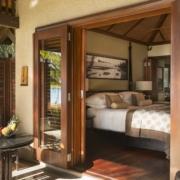 Ansicht einer Ocean Junior Suite im 5-Sterne Hotel Lux*-Le Morne auf Mauritius.
