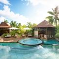 Spa Landschaft im 5-Sterne Hotel Lux* Le Morne auf Mauritius.