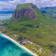 Der Le Morne Brabant in Mauritius