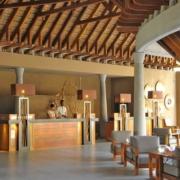 Rezeption und Lobby im 5-Sterne Hotel Trou aux Biches Mauritius Beachcomber.