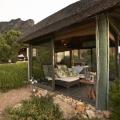 Outdoor Spa Gazebo des im 4-Sterne Hotels Twelve Apostel in Suedafrika.