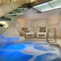 Pool im Spa des 4-Sterne Hotels Twelve Apostel in Suedafrika.