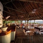 Restaurantterrasse im 4-Sterne adult-only Hotel Victoria For 2 auf Mauritius.