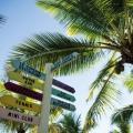 Wegweiser im 4-Sterne adult-only Hotel Victoria For 2 auf Mauritius.