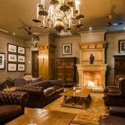 Lounge im Lanzerac Hotel & Spa Suedafrika.
