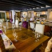Probierraum fuer Weinprobe im Lanzerac Hotel & Spa Suedafrika.