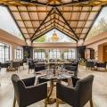Speisesaal im Lanzerac Hotel & Spa Suedafrika.