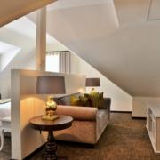 Innenansicht einer Balcony Suite im 4-Sterne Hotels Winchester Mansions, in Kapstadt.