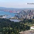 Luftaufnahme von Vancover. Copyright © bei der Canadian Tourism Autourity.