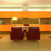 Lounge im 5-Sterne Hotel Vigilus am Vigiljoch bei Meran.
