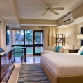 Standardzimmer mit Gartenblick und Terrasse im 4-Sterne Plus Hotel Bucuti & Tara Beach Resort,